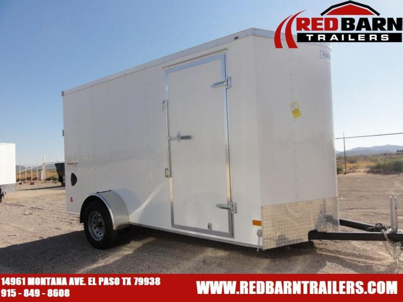 2021 6 x 12 2020 Haulmark Passport ENCLOSED/CARGO TRAILER