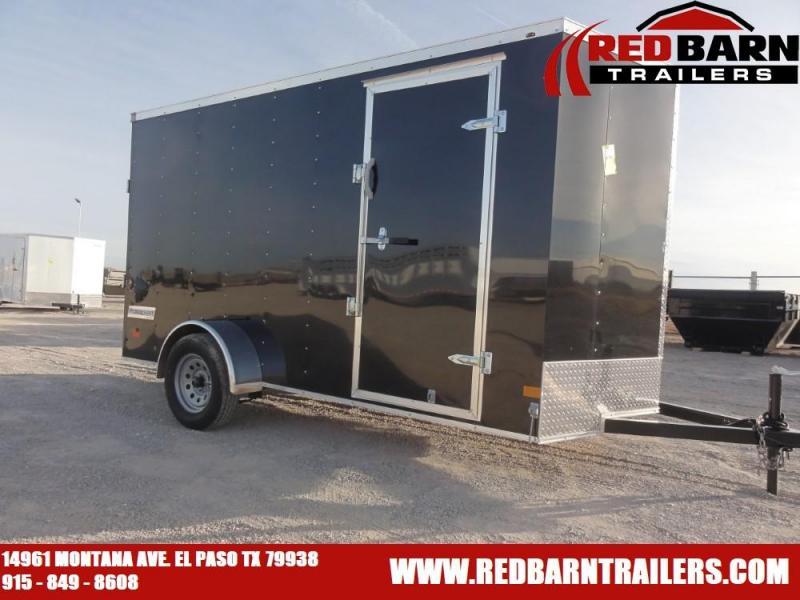 6 X 12 2021 Haulmark PP612S2-D Enclosed Cargo Trailer