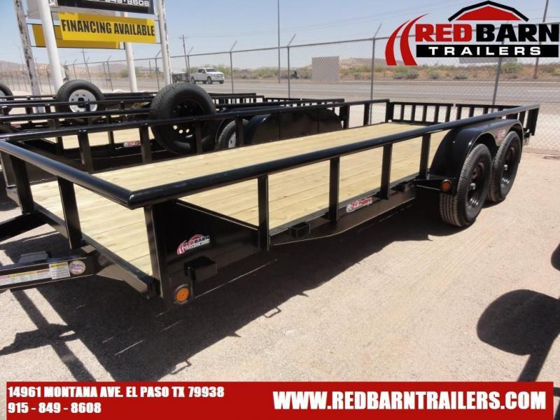82 x 18  GR 2021 Tandem Axle Utility Trailer