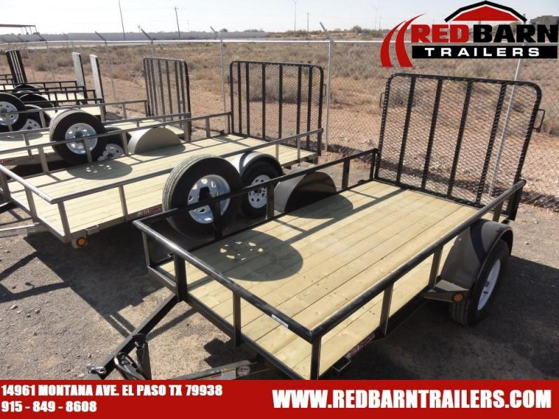 5 x 10 2020 GR Single Axle Utility - Ramp Gate