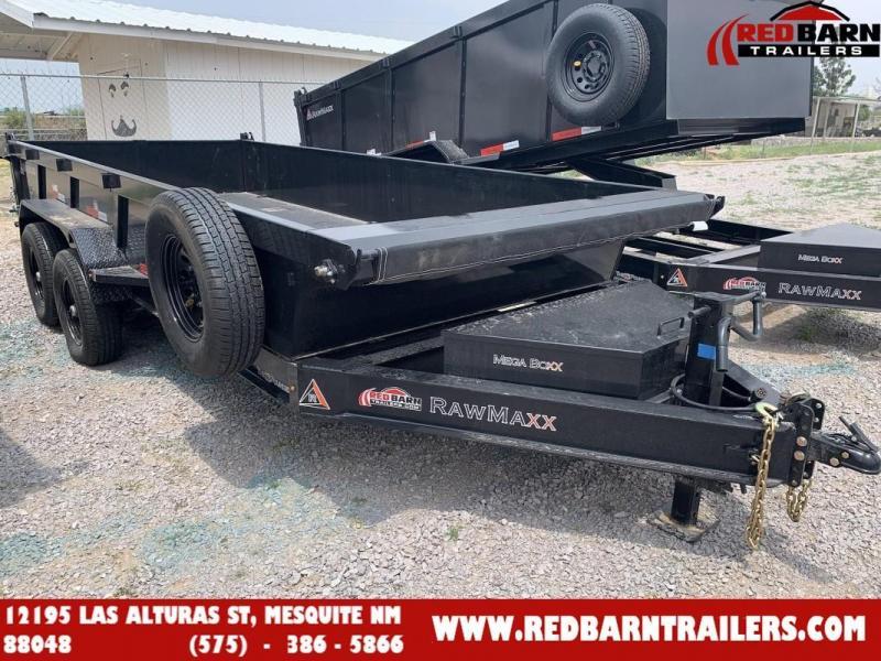 2022 7 X 16 RawMaxx XTT-16-27K Dump Trailer