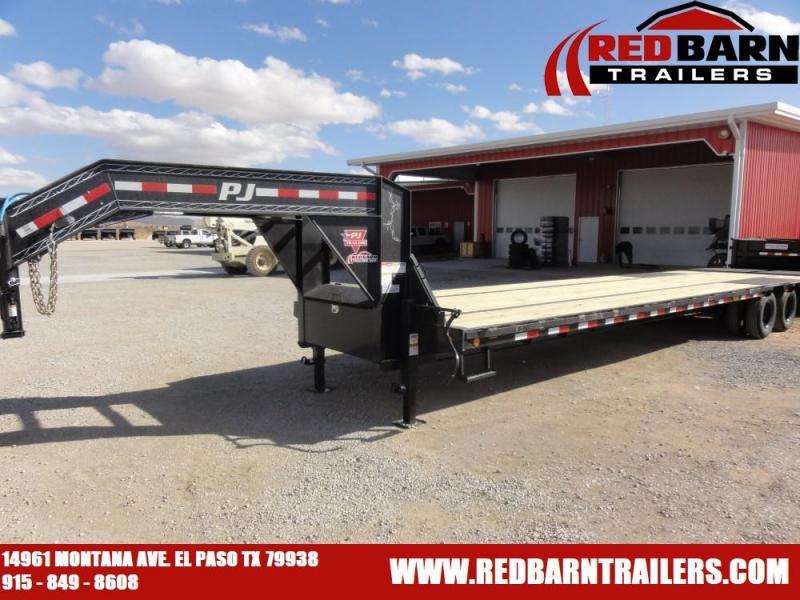 102x36 2021 PJ Trailers Low-Pro Flatdeck with Duals (LD)