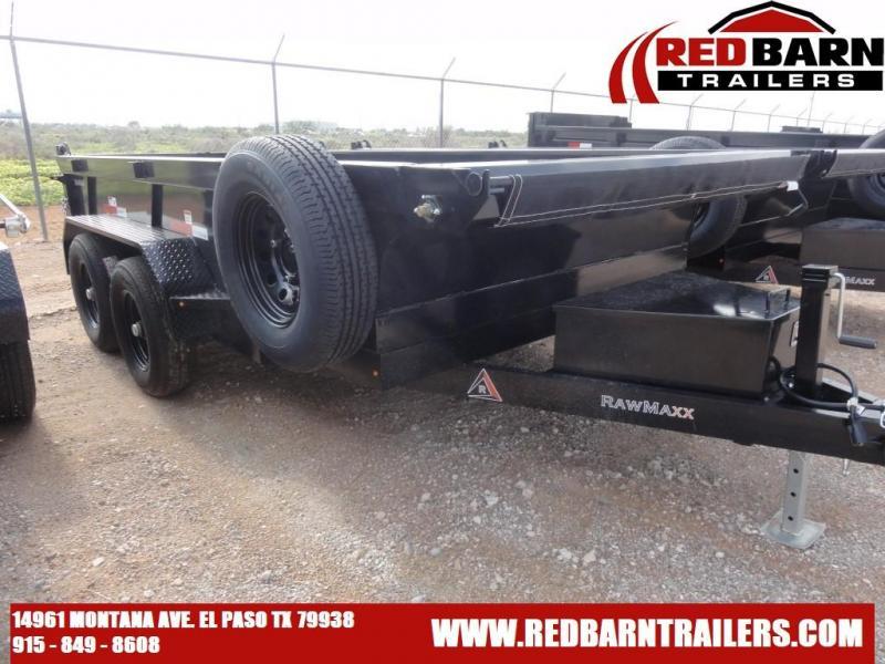 2022 RawMaxx XTT-12-2-2.5K Dump Trailer