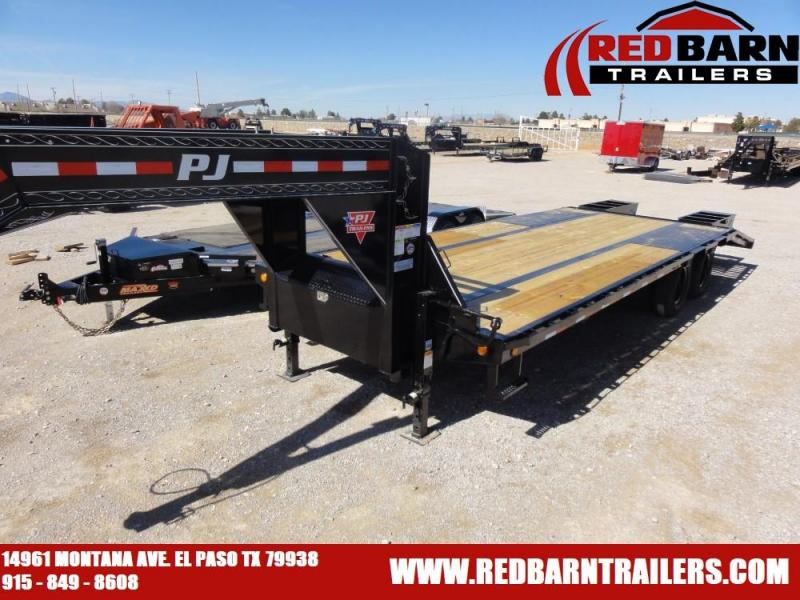 102x25 2020 PJ Trailers Low-Pro Flatdeck with Duals (LD)