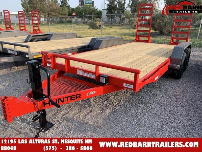 7 x 16 2022 Hunter EQH81625S Equipment Trailer
