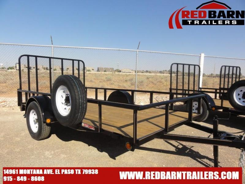 77X12 GR 2021 Single Axle Utility - Ramp Gate