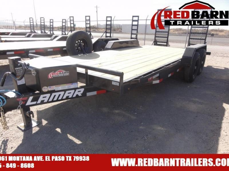 7 X 18 2021 Lamar Trailers H6831827 Equipment Trailer