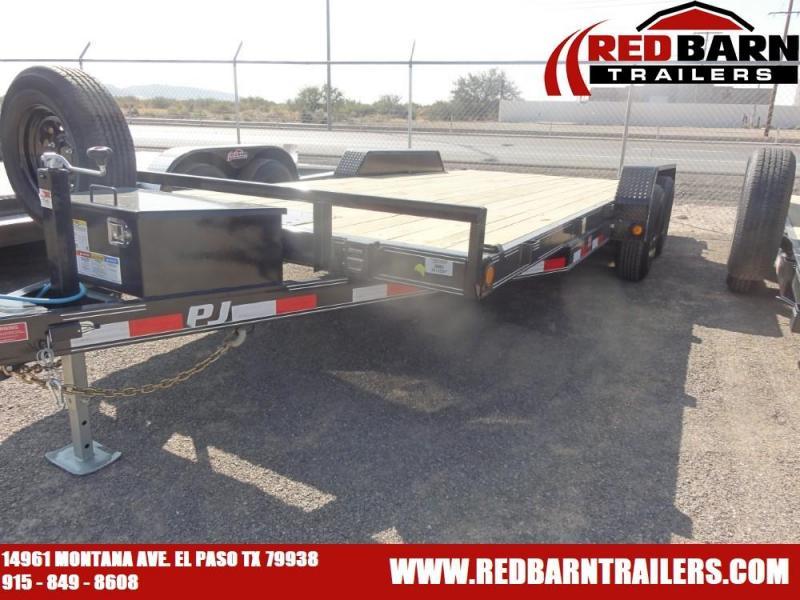 "83"" x 18 2021 PJ Trailers CE182T Car / Racing Trailer"
