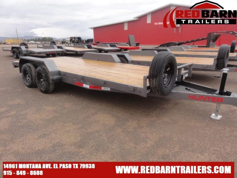 7 X 18 2022 Hunter CAH821823 Car / Racing Trailer