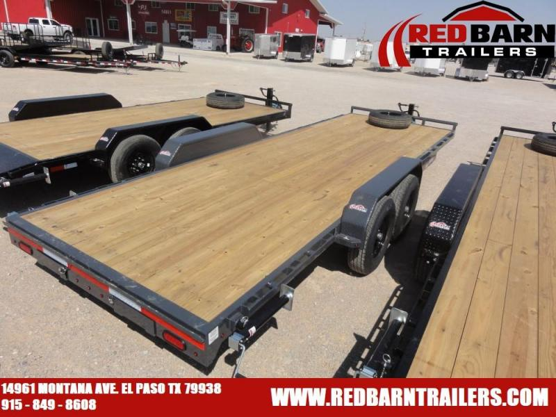 7 X 22 2021 Lamar Trailers H6832227 Equipment Trailer