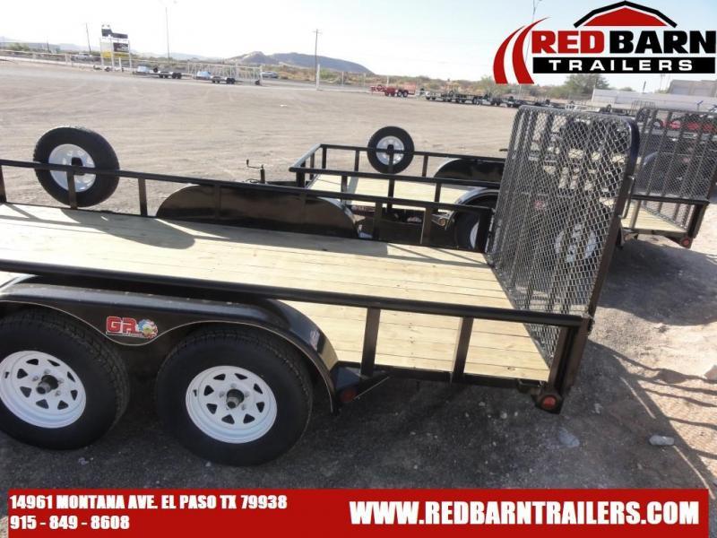 7 X 16 2020 GR Trailers UT7016WR07L Utility Trailer