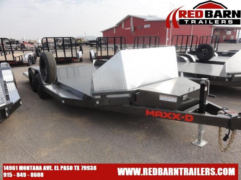 2022 MAXXD N5X8318 TUBE FRAME CAR TRAILER Car Racing Trailer