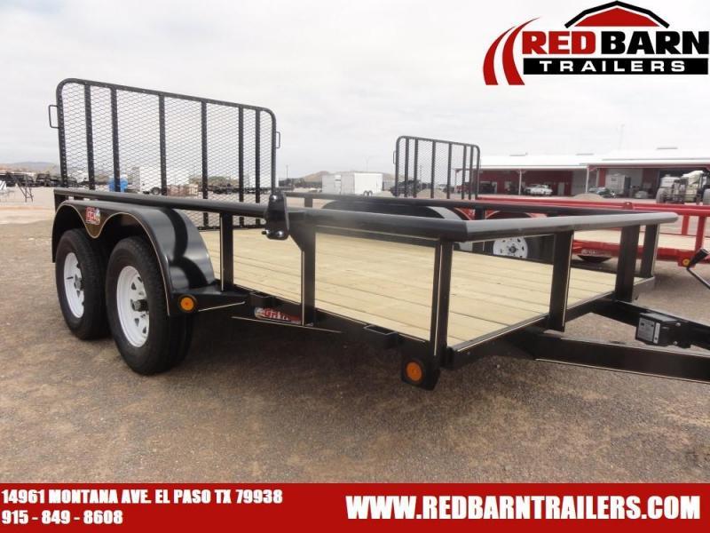 2021 GR Trailers UT7012W07L Tandem Axle Utility Trailer
