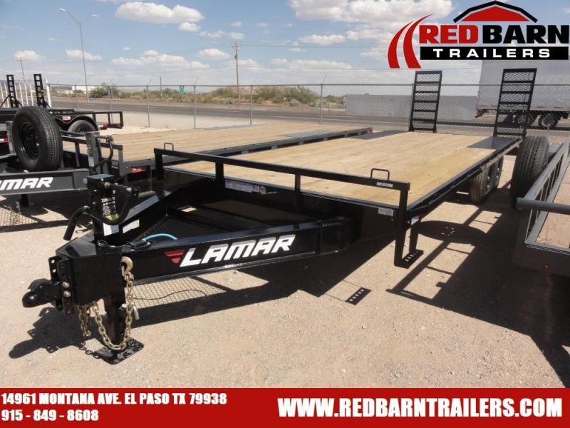 102 X 24 2020 Lamar Trailers F8022427X Equipment Trailer
