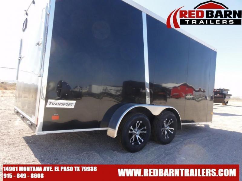 2021 Haulmark Transport V-Nose 7X16 Enclosed Cargo Trailer