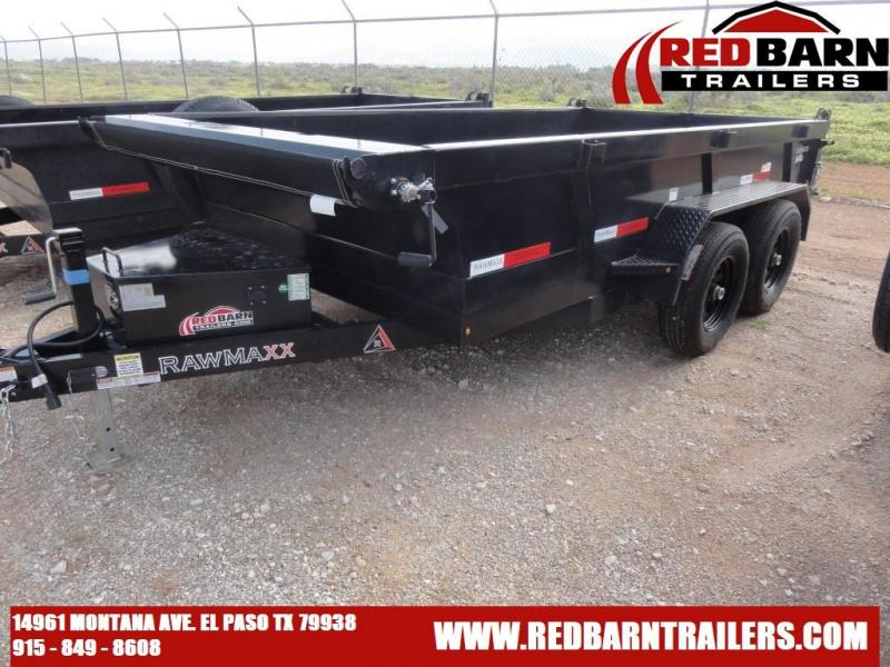 2022 RawMaxx XTT-12-2-5.2K Dump Trailer
