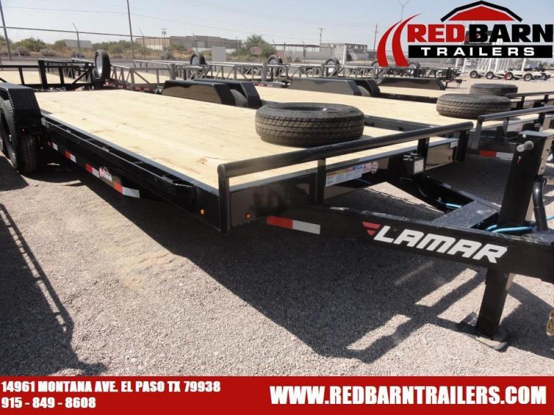 7 X 22 2021 Lamar Trailers H6832227 Equipment Trailer