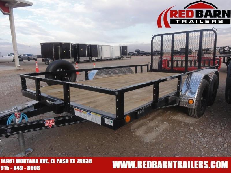 2021 PJ Trailers UL142 Tandem Axle Utility Trailer