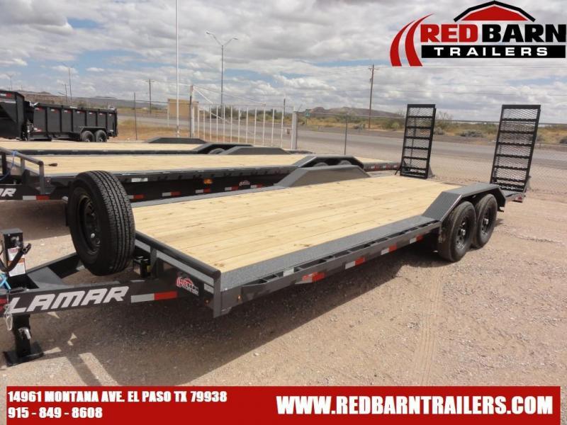 2021 LAMAR 102 X 22 Equipment Trailer H6022227