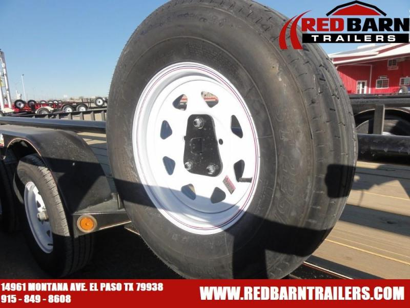 2021 GR Trailers UT7020W07L Tandem Axle Utility Trailer