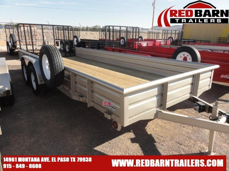 2022 GR 82 X 18 Tandem Axle Utility - RampGate Closed Sides