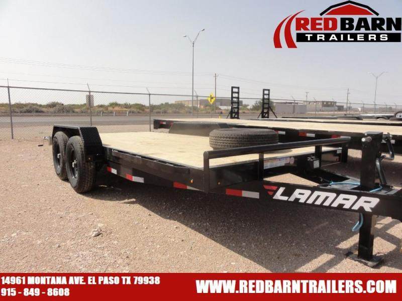 7 X 16 2021 Lamar Trailers H6831627 Equipment Trailer