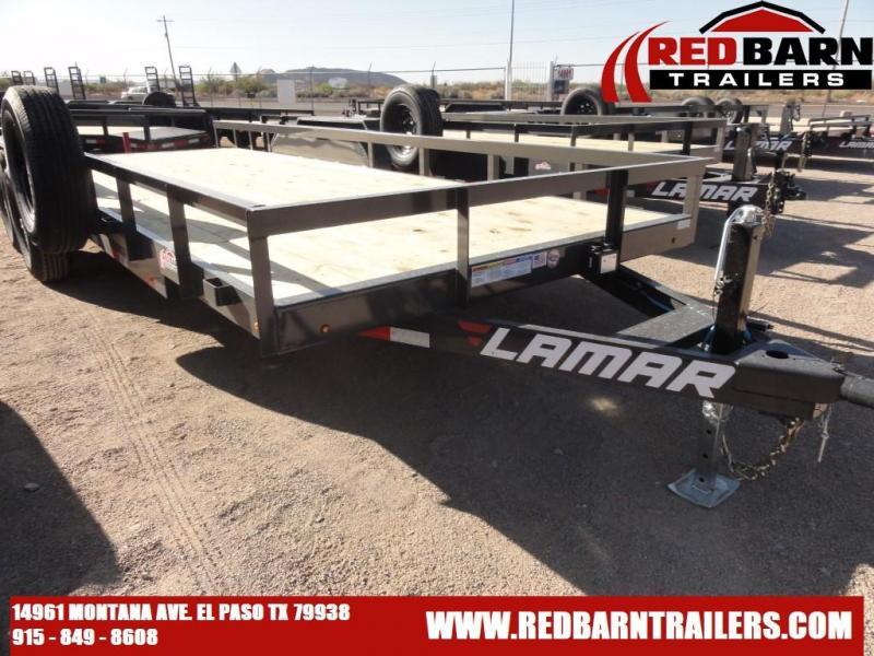 2021 Lamar 83x20 Utility Trailer U5832025 10K
