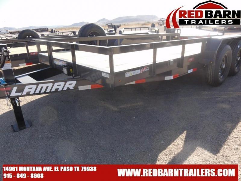 2021 Lamar 83X16 Trailers U6182 Utility Trailer