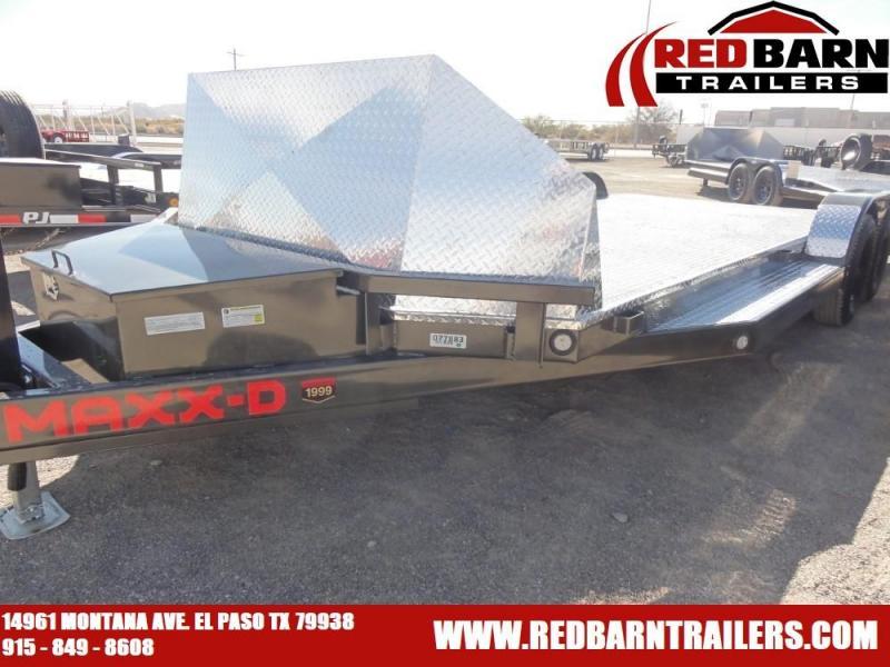 83X20 2021 MAXXD N5X TUBE FRAME CAR TRAILER Car Racing Trailer