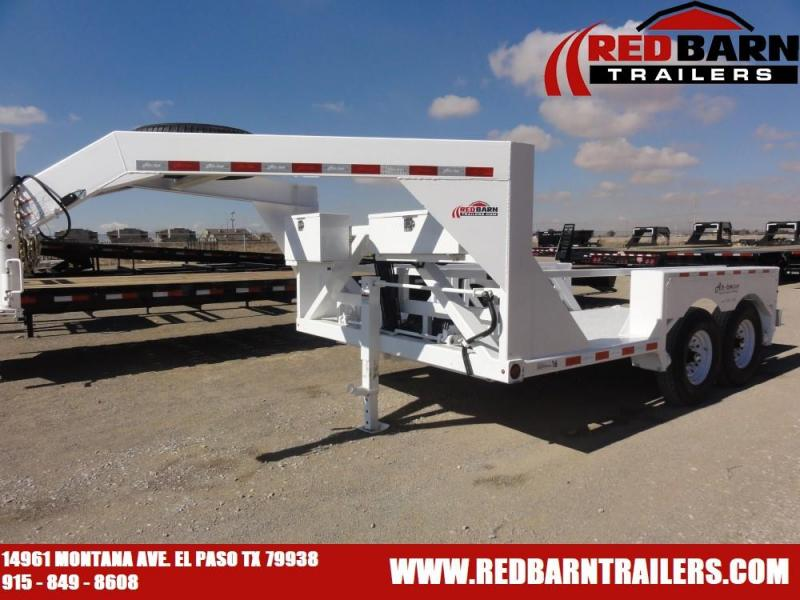 "6'3"" x 18 2020 Air Tow Gooseneck Equipment Trailer"
