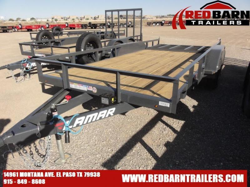 2021 Lamar 77X16 Trailers UC771623 Utility Trailer