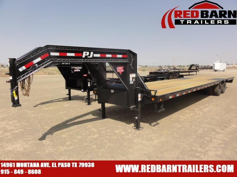 102 x 35FT. PJ Low-Pro Flatdeck with Duals (LD)