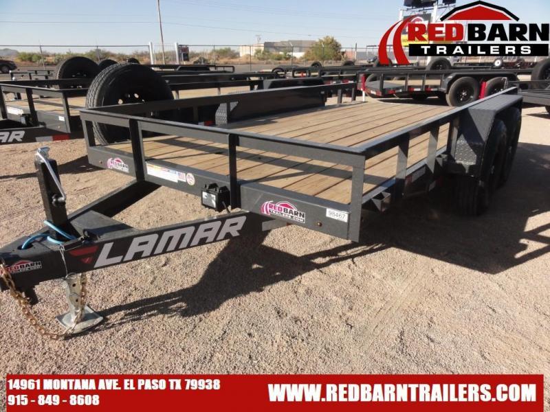 2021 Lamar 83X14 Utility Trailer U58316 10K