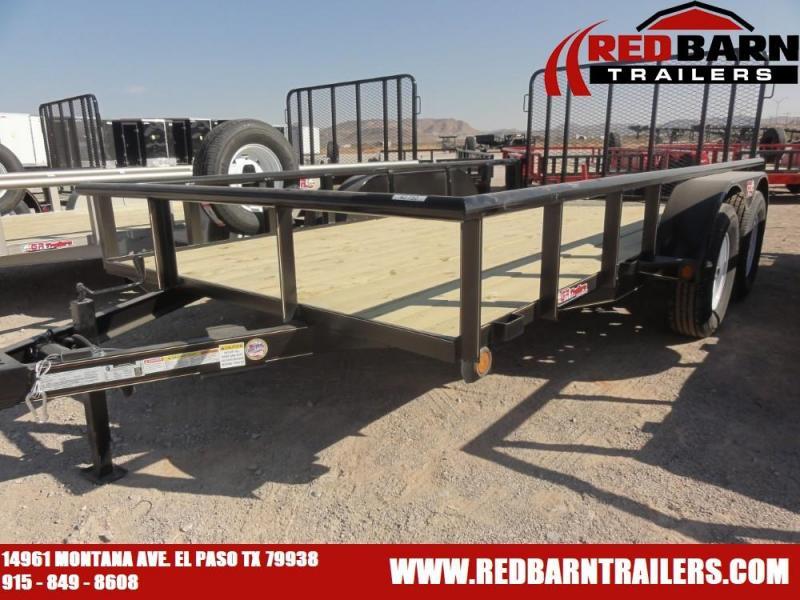 2021 GR Trailers UT7014W07L Tandem Axle Utility Trailer