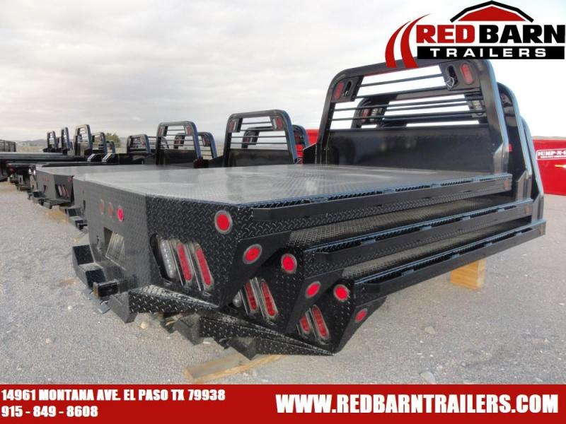 "84"" X 84' SR - Norstar Diamond Plate Flat Bed"