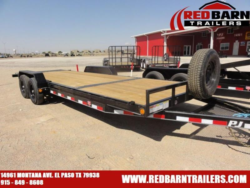 2021 PJ Trailers Gravity Tilt EQUIPMENT HAULER UTILITY