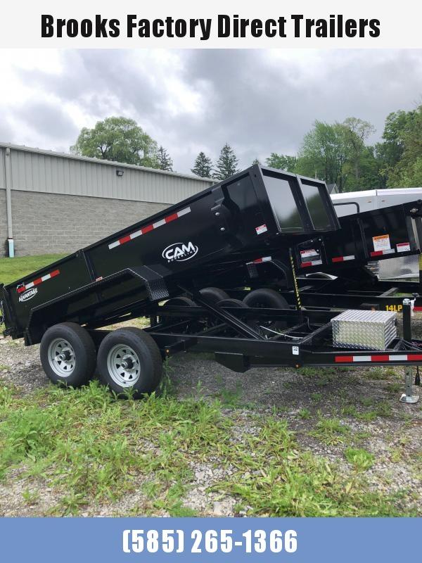 2021 Cam Superline 5 Ton 6 X 12 Advantage Low Profile Dump Trailer