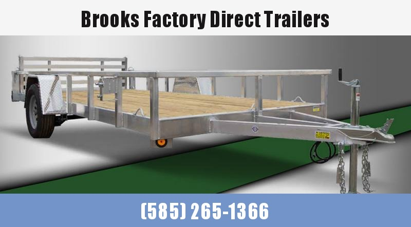 2022 Quality Steel and Aluminum 8012ALDXSA3.5K 7x12Utility Trailer