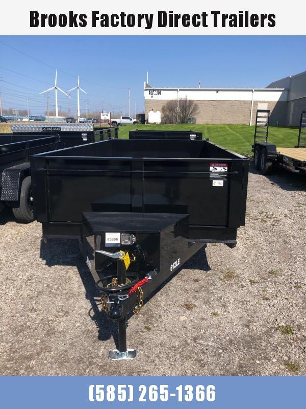 2022 BRI-MAR DT612LP-LE-10-A Dump Trailer BLACK