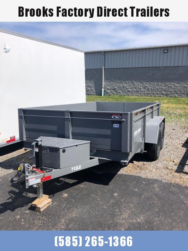 2021 BRI-MAR DT712LP-LE-12-A Dump Trailer GRAY