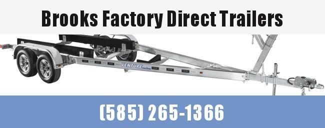 2022 Venture Trailers Aluminum Tandem Axle Bunk VATB-7225 Boat Trailer