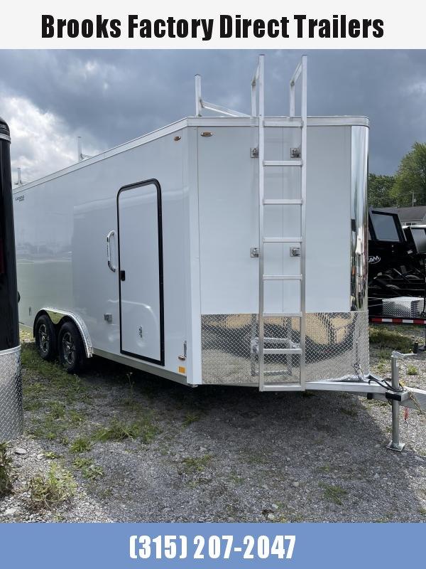 2022 Legend Trailers 8X19FTVTA35 WHITE Enclosed 8X19 Cargo Trailer