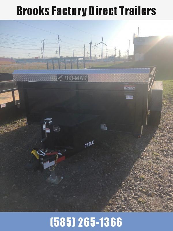 2021 BRI-MAR DT712LP-LE-12-A Dump Trailer BLACK