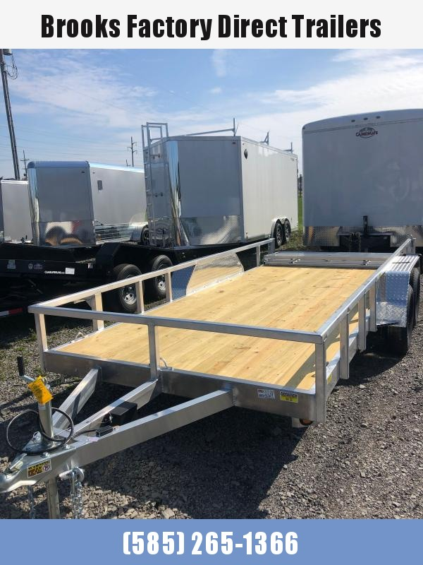 2022 Quality Steel and Aluminum 8016ALDX7KTA Utility Trailer