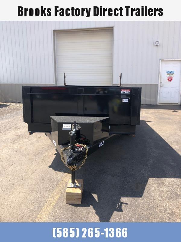 2021 BRI-MAR DT612LP-LE-10-A Dump Trailer BLACK