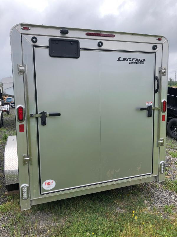 2021 Legend Trailers 7X17DVNTA35 Enclosed 7x17 Aluminum Cargo Trailer