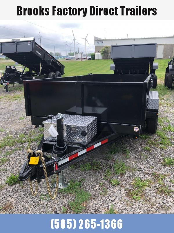 2021 Cam Superline 5 Ton 6X12 Advantage Low Profile Dump Trailer