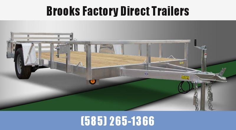 2022 Quality Steel and Aluminum 8010ALDXSA3.5K 7X10 Utility Trailer