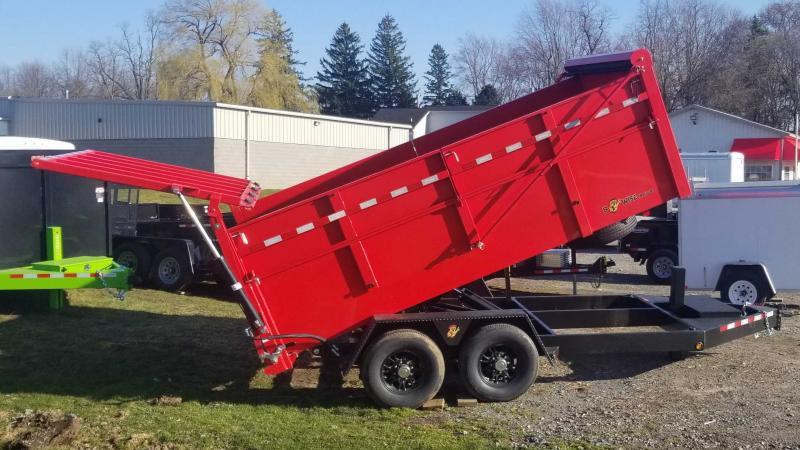 2021 BWISE DU14-15K 7x14 Dump Trailer