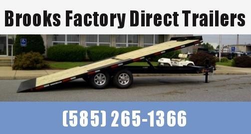 2021 BWISE THD22-15K 102x22 TA Tilt Deckover Equipment Trailer